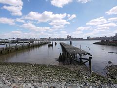 日, 2011-04-03 13:37 - George Washington Bridge から Hoboken までハドソン川沿いをサイクリング
