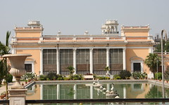 Another of the restored palaces
