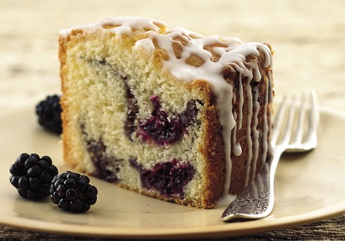 Blackberry Coffee Cake Recipe