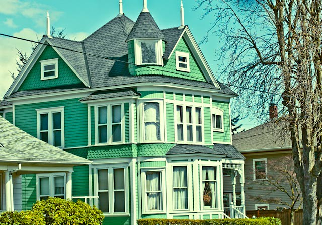 Old green house flickr photo sharing for Classic house green street