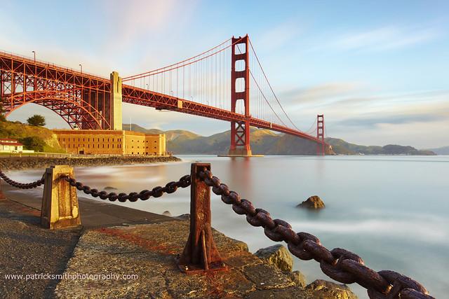 Suspensions - Golden Gate Bridge, San Francisco, California