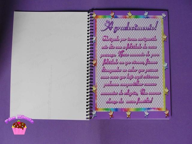 Mensagem De Agradecimento: Caderno Mensagem Para Chá De Bebe 15x21