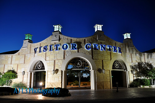 night landscape lights evening texas sanangelo visitorscenter conchoriver ajl3