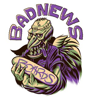 Bad News Boards Apparel Design