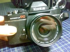 KONICA AUTOREFLEX TC尬52mm/f1.8