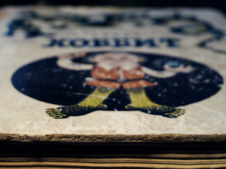 (117/365) Hobbit: old, old book