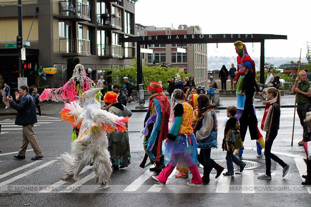 nick cave soundsuit parade on 1st ave