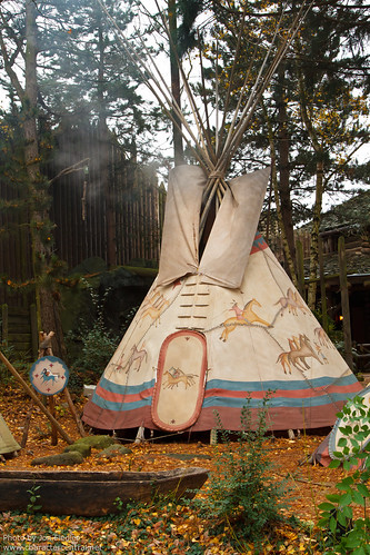 DLP Christmas 2010 - The Teepee is smoking again!