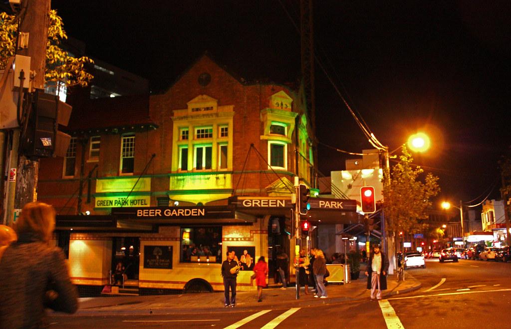 Green Park Hotel, Darlinghurst, Sydney.