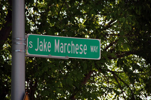 S Jake Marchese Way sign