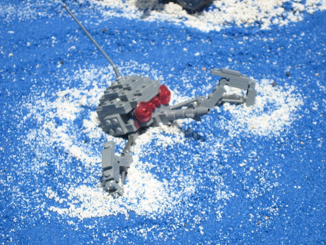 how to build a lego dwarf spider droid