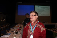Olav Mattis Eira, President of the Saami Council