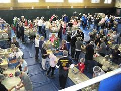 Rotary Club of Winnetka-Northfield packs 100,000 meals