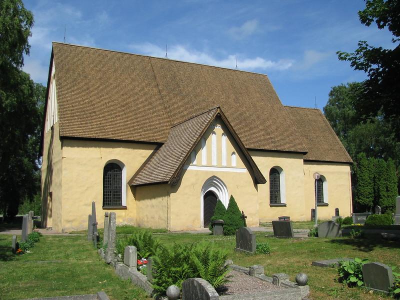 rentuna kyrka - PICRYL Public Domain Image