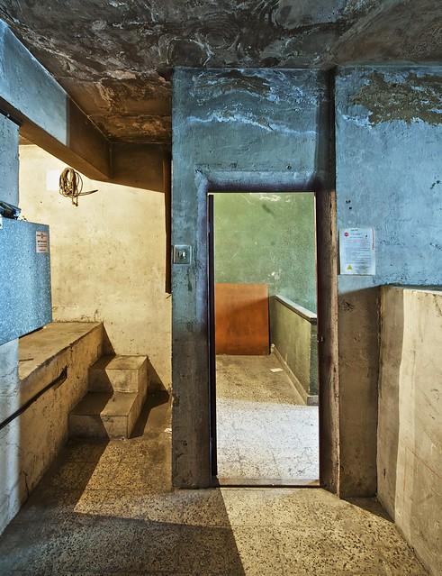 elevator machinery room