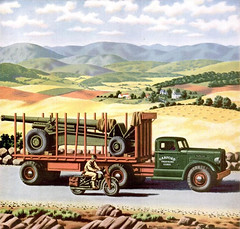 Color Autocar Truck Ads -- William H. Campbell