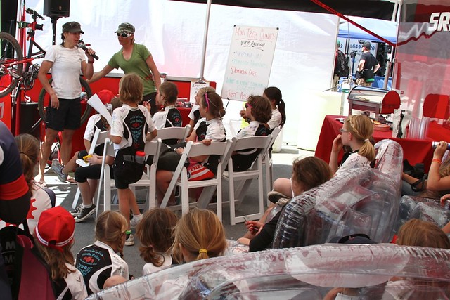 SRAM Ladies Lounge at Sea Otter