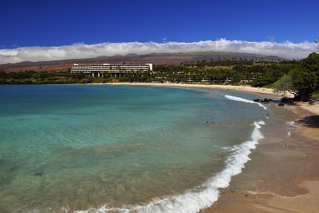 Mauna Kea Beach, South Kohala, Big Island, Hawaii.
