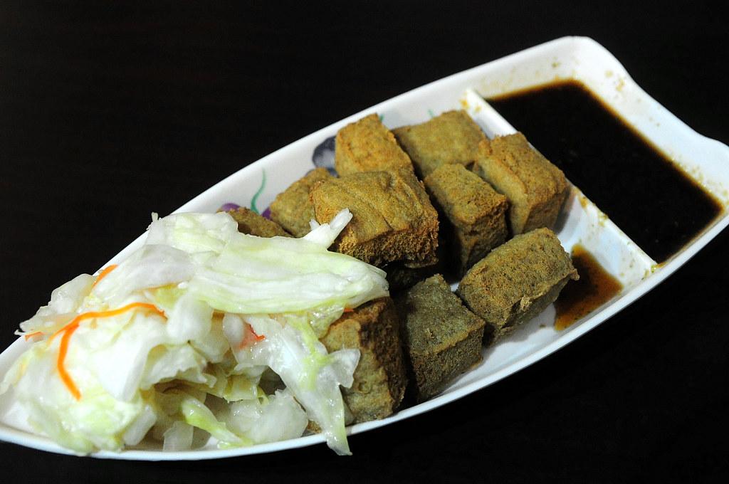 一吃獨秀臭豆腐
