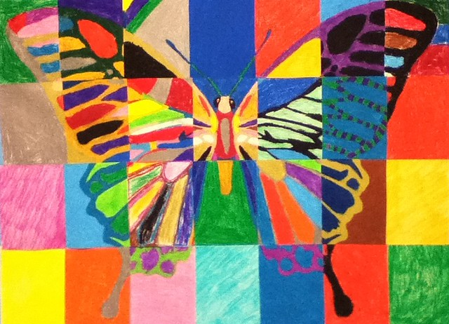 5641490412 6eee9f2ab3 for Butterfly garden mural