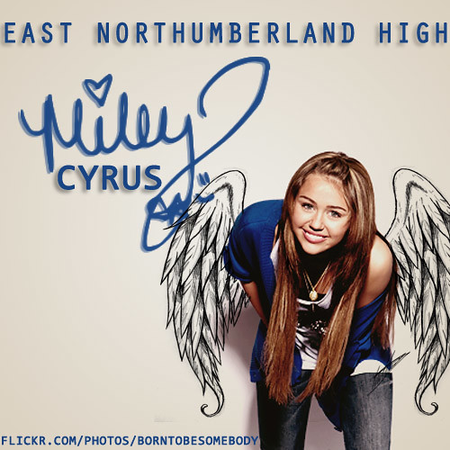 Miley Cyrus East Northumberland High CD Cover