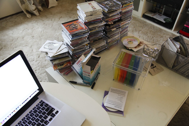 Organizing My CDs