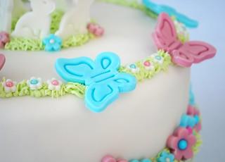 Butterflies on Cake