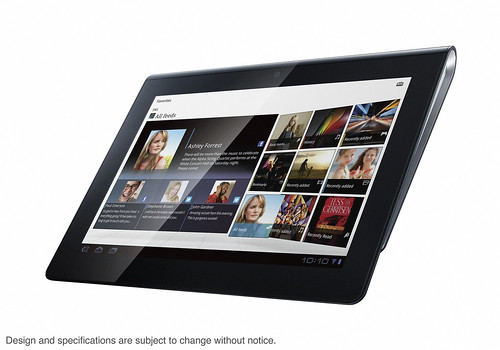 Tablettes tactiles Android 3.0 Sony S1 et S2