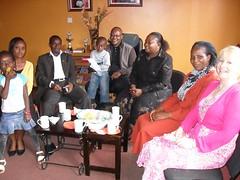 GGM team visiting K3C, Pastor Ken Kamau and Michael Kibinge and staff