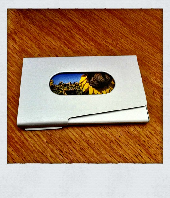 Cool business card holder flickr photo sharing for Cool business card case