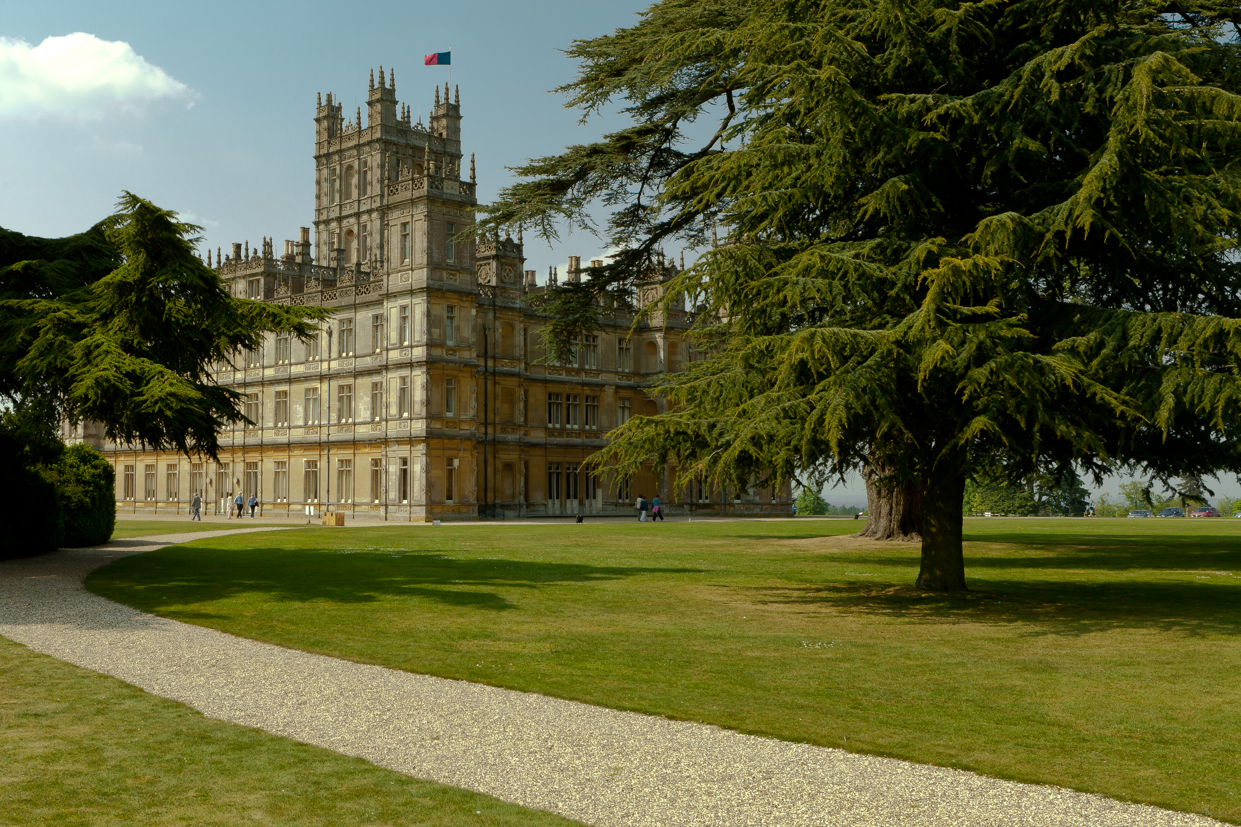 Downton abbey highclere castle flickr photo sharing - Downton abbey chateau ...