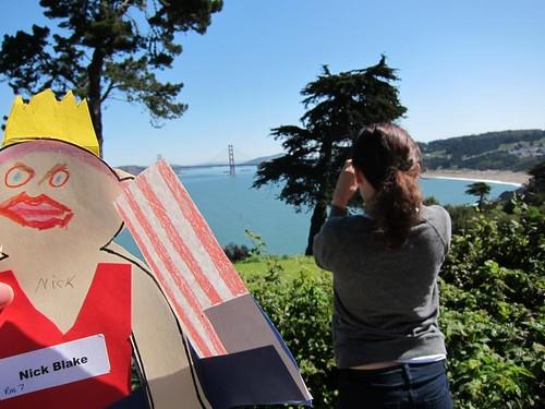Flat Stanley, San Francisco, Golden Gate Bridge IMG_5591