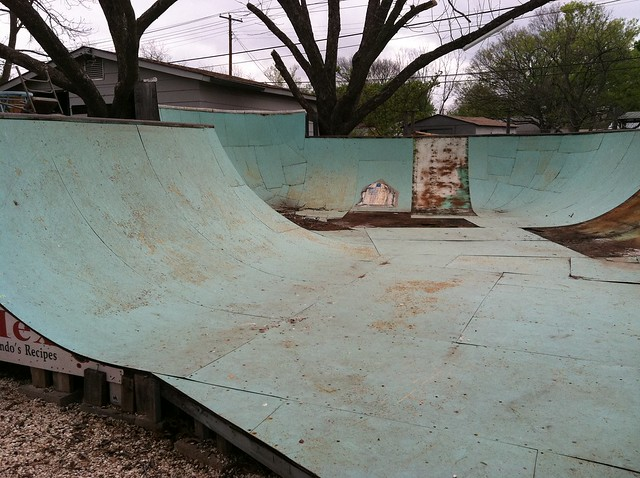 Backyard Skate Park  At the coolest house in Austin, TX M