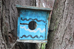 A great old birdhouse