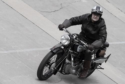 NSU motorcycle