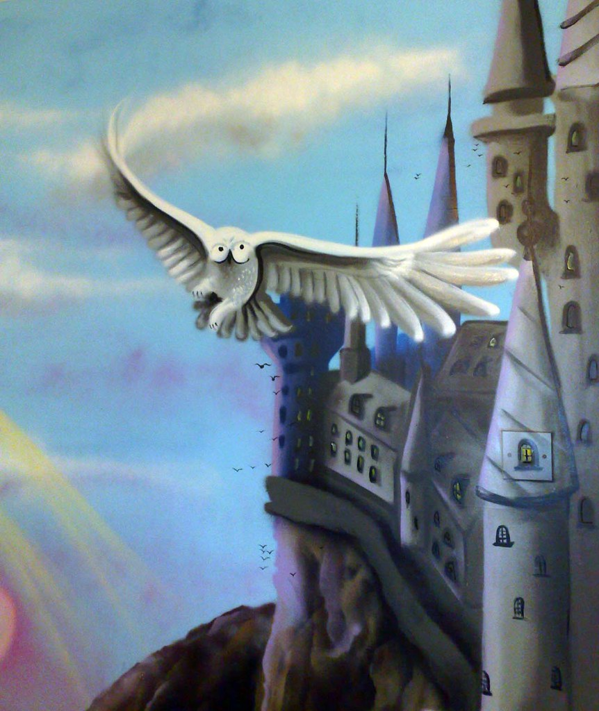 sweetart murals s most interesting flickr photos picssr harry potter mural room hedwig mural