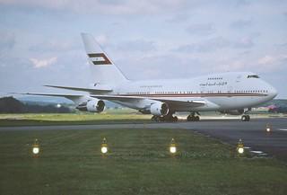 38bm - United Arab Emirates Boeing 747SP-31; A6-SMM@ZRH;23.08.1998