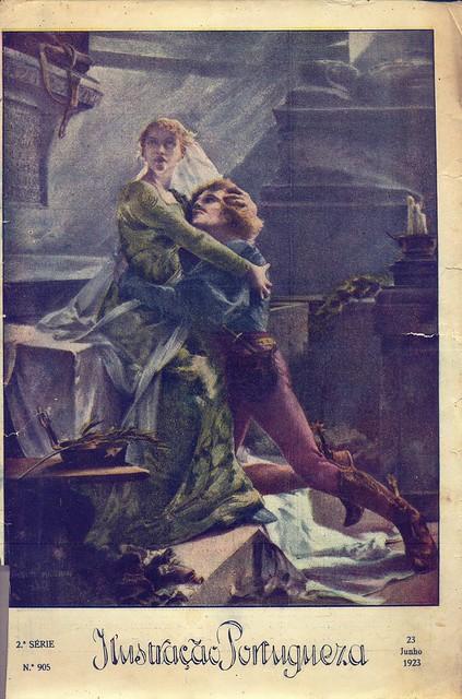 Ilustração Portugueza, Nº 905, Junho 23 1923 - capa