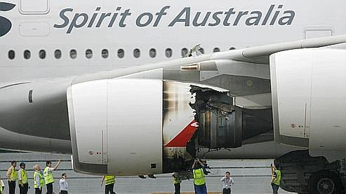 Qantas Rolls-Royce Engine