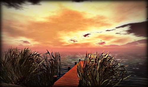 sunset secondlife