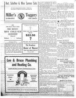 Lee Bruce ad 6-5-1913