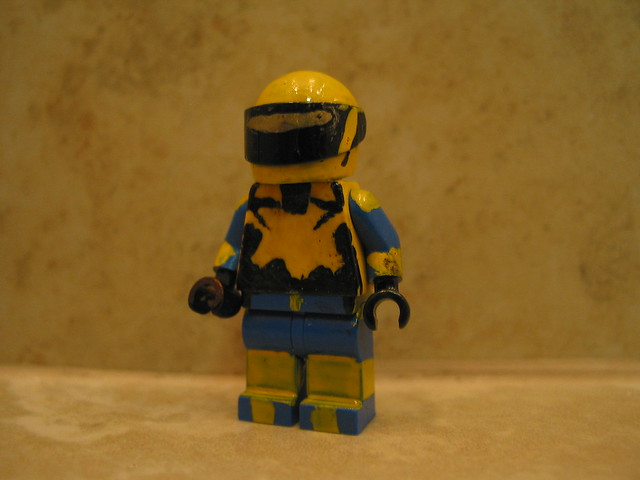 Lego halo custom yellow blue recon spartan flickr - Lego spartan halo ...