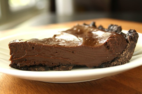 My Budget Version of Cooking Light's Rich Chocolate Pudding Pie