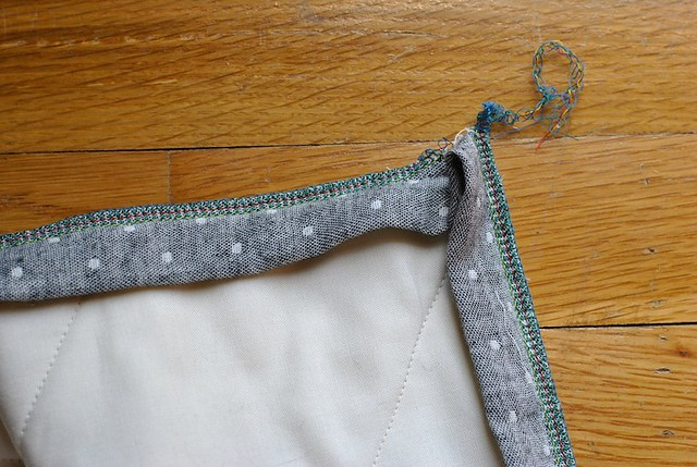 Serged Binding