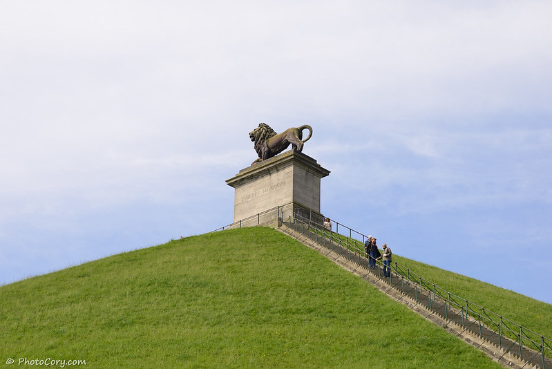waterloo statue, Belgium, Lion