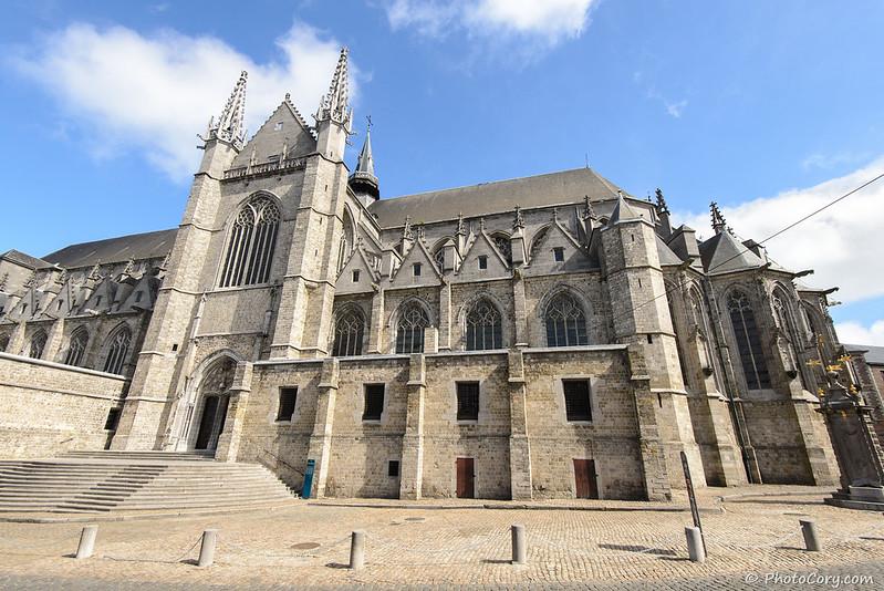 Sainte Waudru church