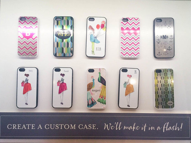 cute & little blog | HMK southlake town square feature | custom monogram iphone cases