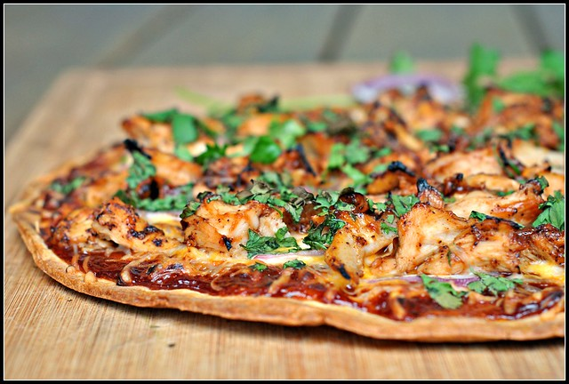 BBQ Chicken Pizza 3