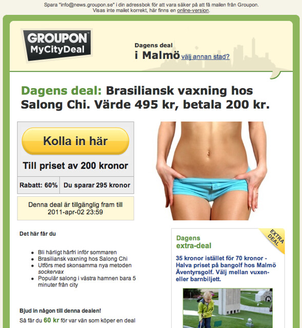 brasiliansk vaxning norrköping