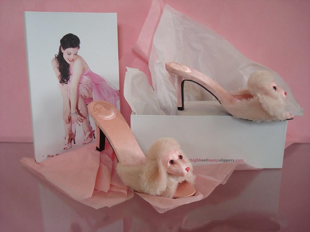 2ba92e417e36 Streetzie s High Heel Bunny Slippers s most interesting Flickr ...